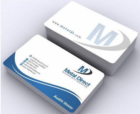 Metal Manufacturing Business Cards and Stationery  Draft # 150 by Deck86