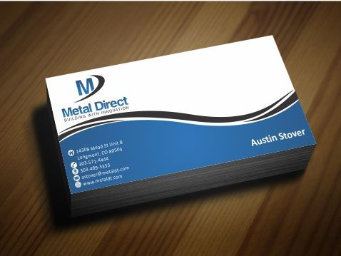 Metal Manufacturing Business Cards and Stationery  Draft # 151 by Deck86