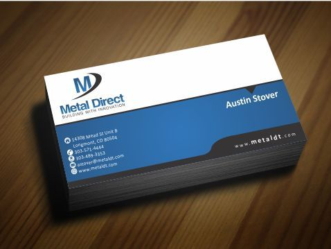 Metal Manufacturing Business Cards and Stationery  Draft # 153 by Deck86