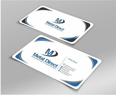 Metal Manufacturing Business Cards and Stationery  Draft # 154 by Deck86