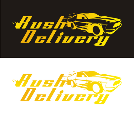 a car that symbols delivery service and that reflects its fast A Logo, Monogram, or Icon  Draft # 140 by rangga22