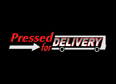 Pressed for Delivery A Logo, Monogram, or Icon  Draft # 80 by antos
