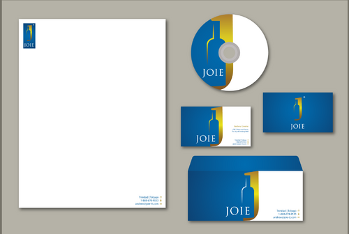 JOIE Stationery  Business Cards and Stationery  Draft # 155 by jpgart92