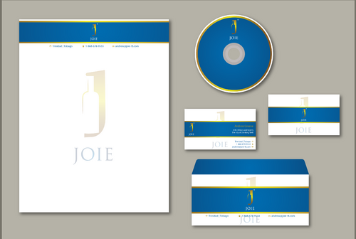 JOIE Stationery  Business Cards and Stationery  Draft # 158 by jpgart92