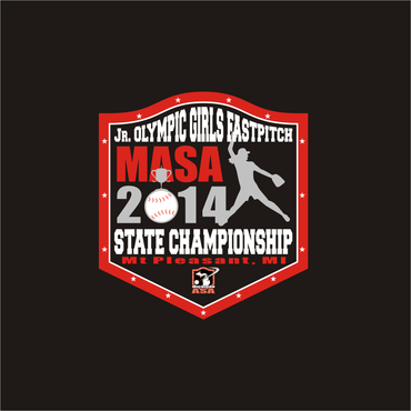 2014 MASA Jr Olympic Girls Fast Pitch State Championship A Logo, Monogram, or Icon  Draft # 67 by Mudjtahid