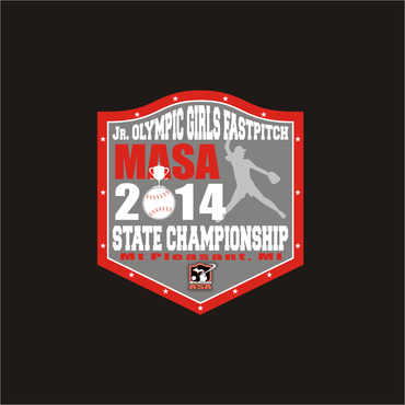2014 MASA Jr Olympic Girls Fast Pitch State Championship A Logo, Monogram, or Icon  Draft # 68 by Mudjtahid