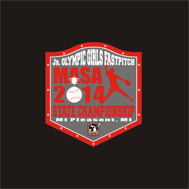 2014 MASA Jr Olympic Girls Fast Pitch State Championship A Logo, Monogram, or Icon  Draft # 69 by Mudjtahid