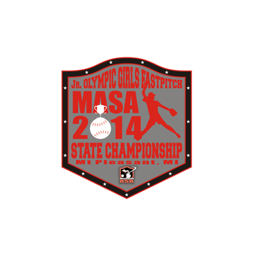 2014 MASA Jr Olympic Girls Fast Pitch State Championship A Logo, Monogram, or Icon  Draft # 70 by Mudjtahid