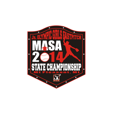 2014 MASA Jr Olympic Girls Fast Pitch State Championship A Logo, Monogram, or Icon  Draft # 71 by Mudjtahid