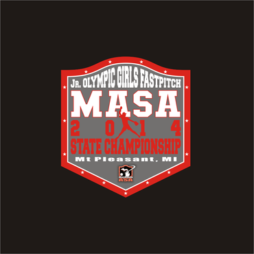 2014 MASA Jr Olympic Girls Fast Pitch State Championship A Logo, Monogram, or Icon  Draft # 72 by Mudjtahid
