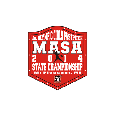 2014 MASA Jr Olympic Girls Fast Pitch State Championship A Logo, Monogram, or Icon  Draft # 73 by Mudjtahid