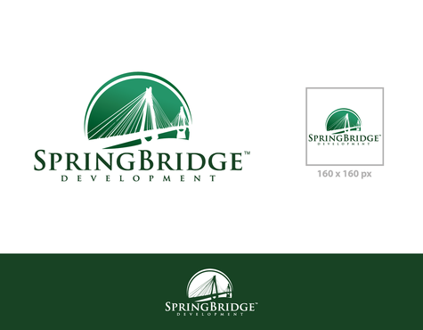 SpringBridge Development Partners A Logo, Monogram, or Icon  Draft # 24 by graphicsB8