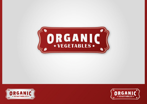 ORGANIC  VEGETABLES A Logo, Monogram, or Icon  Draft # 6 by ferkysign