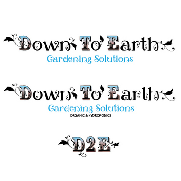 Down To Earth Gardening Solutions A Logo, Monogram, or Icon  Draft # 3 by melody1
