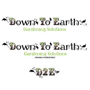 Down To Earth Gardening Solutions A Logo, Monogram, or Icon  Draft # 4 by melody1