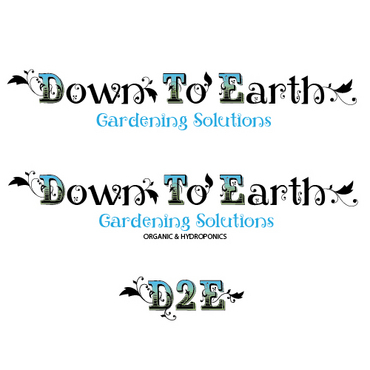 Down To Earth Gardening Solutions A Logo, Monogram, or Icon  Draft # 5 by melody1
