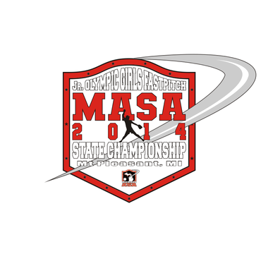 2014 MASA Jr Olympic Girls Fast Pitch State Championship A Logo, Monogram, or Icon  Draft # 74 by Mudjtahid