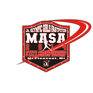 2014 MASA Jr Olympic Girls Fast Pitch State Championship A Logo, Monogram, or Icon  Draft # 75 by Mudjtahid