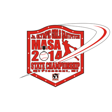 2014 MASA Jr Olympic Girls Fast Pitch State Championship A Logo, Monogram, or Icon  Draft # 76 by Mudjtahid