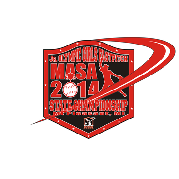 2014 MASA Jr Olympic Girls Fast Pitch State Championship A Logo, Monogram, or Icon  Draft # 77 by Mudjtahid