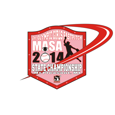 2014 MASA Jr Olympic Girls Fast Pitch State Championship A Logo, Monogram, or Icon  Draft # 78 by Mudjtahid