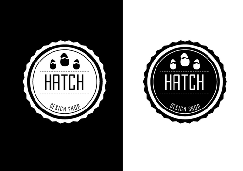 Hatch. (Not sure what else) A Logo, Monogram, or Icon  Draft # 16 by natty