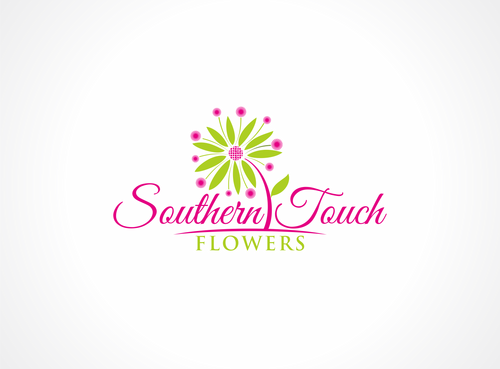 Southern Touch Flowers A Logo, Monogram, or Icon  Draft # 68 by dweedeku