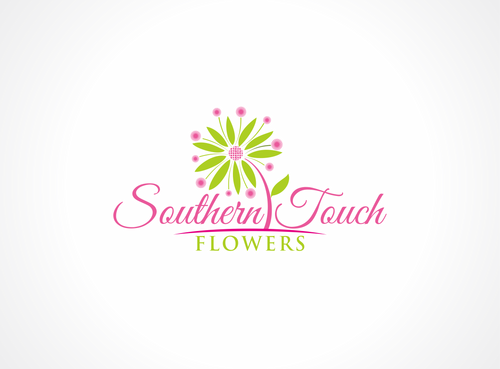 Southern Touch Flowers A Logo, Monogram, or Icon  Draft # 69 by dweedeku