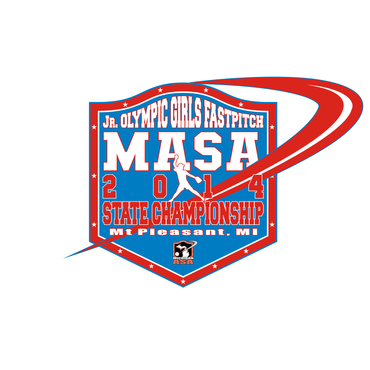 2014 MASA Jr Olympic Girls Fast Pitch State Championship A Logo, Monogram, or Icon  Draft # 79 by Mudjtahid