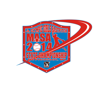 2014 MASA Jr Olympic Girls Fast Pitch State Championship A Logo, Monogram, or Icon  Draft # 80 by Mudjtahid