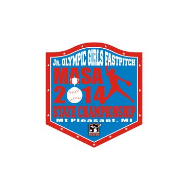 2014 MASA Jr Olympic Girls Fast Pitch State Championship A Logo, Monogram, or Icon  Draft # 82 by Mudjtahid