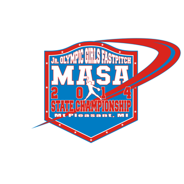 2014 MASA Jr Olympic Girls Fast Pitch State Championship A Logo, Monogram, or Icon  Draft # 83 by Mudjtahid