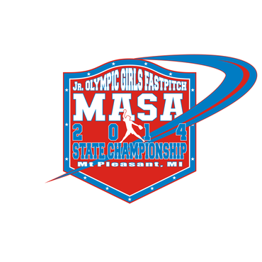 2014 MASA Jr Olympic Girls Fast Pitch State Championship A Logo, Monogram, or Icon  Draft # 84 by Mudjtahid