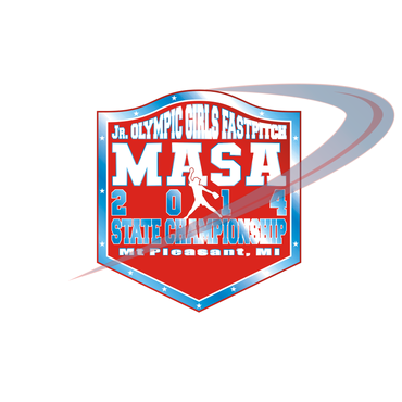 2014 MASA Jr Olympic Girls Fast Pitch State Championship A Logo, Monogram, or Icon  Draft # 86 by Mudjtahid