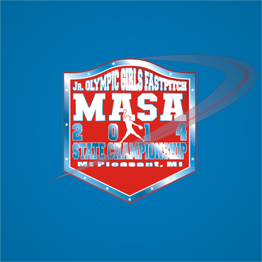 2014 MASA Jr Olympic Girls Fast Pitch State Championship A Logo, Monogram, or Icon  Draft # 87 by Mudjtahid