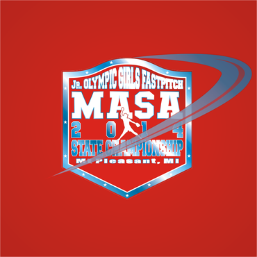 2014 MASA Jr Olympic Girls Fast Pitch State Championship A Logo, Monogram, or Icon  Draft # 88 by Mudjtahid