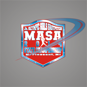 2014 MASA Jr Olympic Girls Fast Pitch State Championship A Logo, Monogram, or Icon  Draft # 89 by Mudjtahid