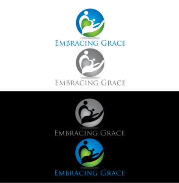 Embracing Grace A Logo, Monogram, or Icon  Draft # 4 by InventiveStylus