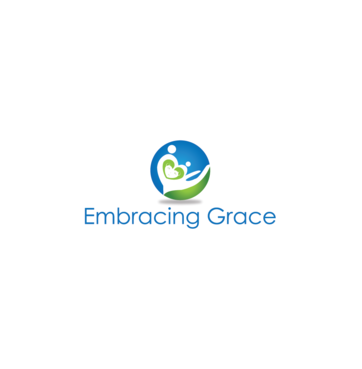 Embracing Grace A Logo, Monogram, or Icon  Draft # 5 by InventiveStylus