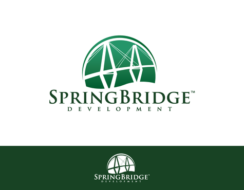 SpringBridge Development Partners A Logo, Monogram, or Icon  Draft # 38 by graphicsB8