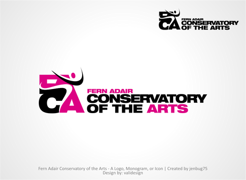 Fern Adair Conservatory of the Arts A Logo, Monogram, or Icon  Draft # 33 by validesign