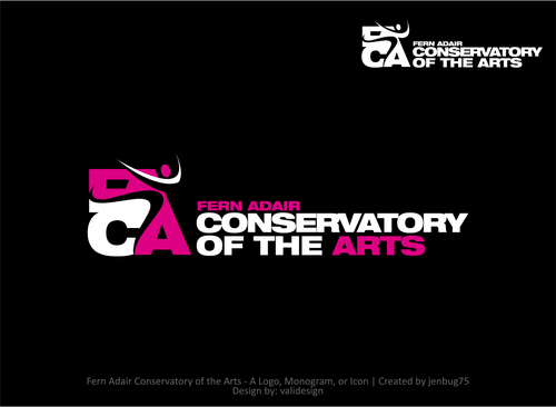 Fern Adair Conservatory of the Arts A Logo, Monogram, or Icon  Draft # 34 by validesign
