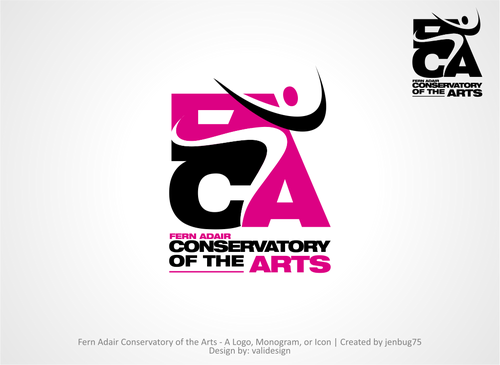 Fern Adair Conservatory of the Arts A Logo, Monogram, or Icon  Draft # 36 by validesign