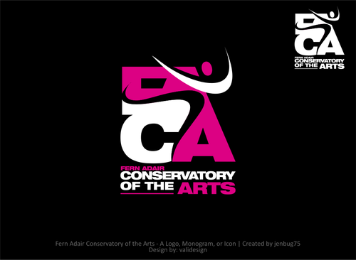 Fern Adair Conservatory of the Arts A Logo, Monogram, or Icon  Draft # 37 by validesign