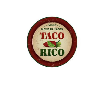 Taco Rico  Logo Winning Design by artsie9324