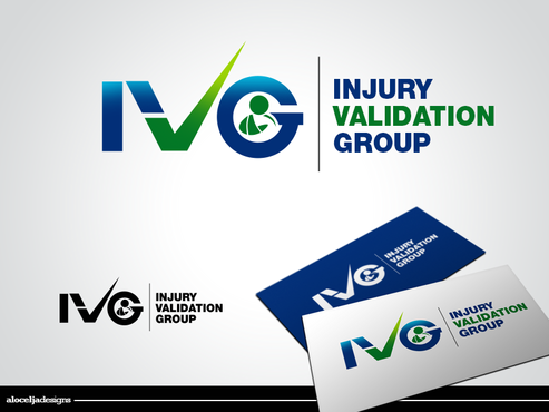 IVG - Injury Validation Group Logo Winning Design by alocelja