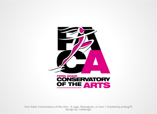 Fern Adair Conservatory of the Arts A Logo, Monogram, or Icon  Draft # 59 by validesign