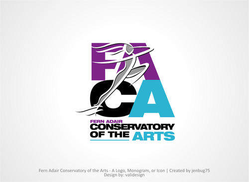 Fern Adair Conservatory of the Arts A Logo, Monogram, or Icon  Draft # 61 by validesign