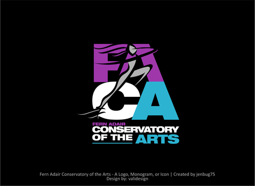 Fern Adair Conservatory of the Arts A Logo, Monogram, or Icon  Draft # 62 by validesign