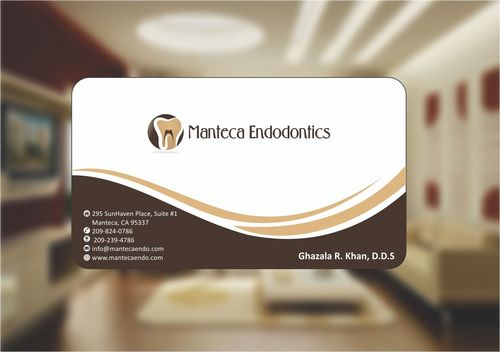 Manteca Endodontics Business Cards and Stationery  Draft # 149 by Deck86